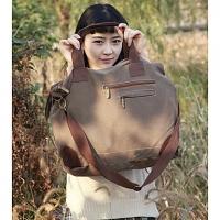 Модные Многофункциональный плеча Tote / Crossbody (кофе) #01036429