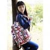 Простой колледж Стиль рюкзак Путешествия (темно-синий) #01036458