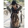 Мода корейский стиль Холст Рюкзак (кофе) #01036391