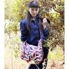 Флаг Ян корейский стиль моды Союз Путешествия сумка (темно-синий) #01036450