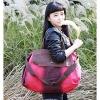 Модные Многофункциональный Tote Холст / Crossbody (красный) #01036466