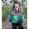 Модные Многофункциональный Tote Холст / Crossbody (зеленый) #01036404