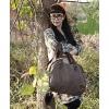 Мода Холст Tote (кофе) #01036416