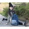 Урожай Отдых Холст рюкзак Путешествия (синий) #01036396