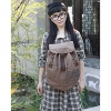 Личная Холст рюкзак Путешествия (кофе) #01036324