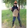 Личная Путешествия холст рюкзак (хаки) #01036470
